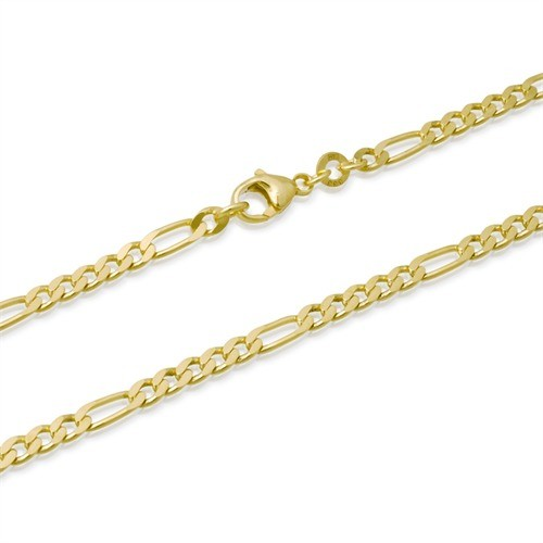14k gold plated sterling silver 925 italian chain necklace bracelet 14k gold plated sterling silver 925 italian chain aloadofball Choice Image