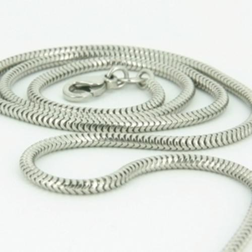 inch chains mm sterling mens link square silver chain solid box