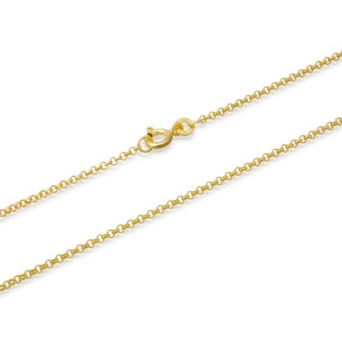 gold bracelet curb inch chain men cuban and amazon dp for women fine anklet com white