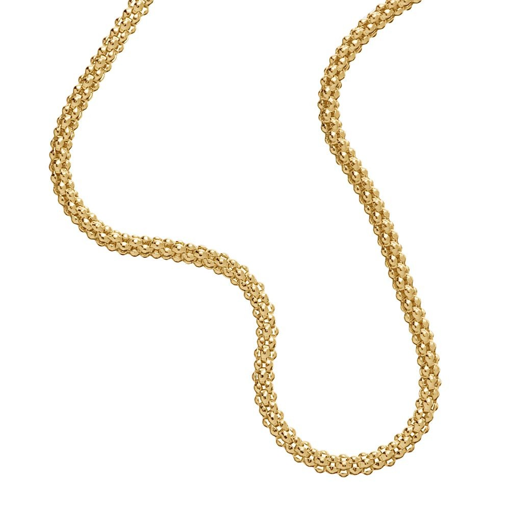 14k Gold Plated Sterling Silver 925 Italian Chain