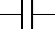 electronic symbol for capacitor