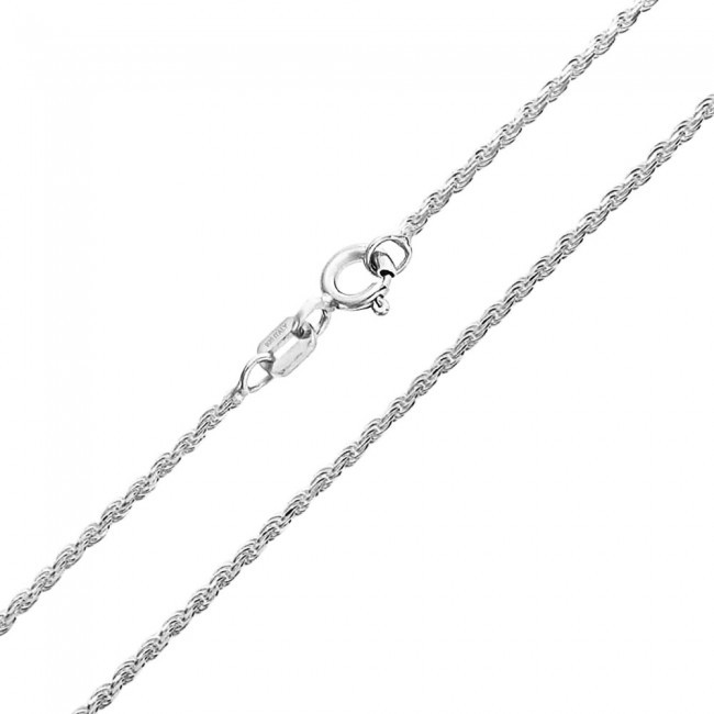 SOLID STERLING SILVER 925 ITALIAN CHAIN ANKLET BRACELET NECKLACE