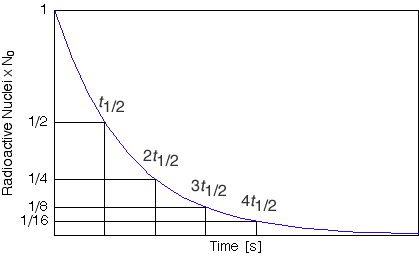 how to find rate of exponential decay